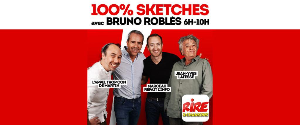 «Le 100% Sketches» de Rire & Chansons  – Plateau humour
